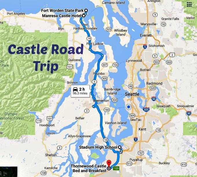 Take This Washington Castle Road Trip