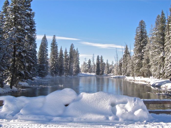 Island Park Is The Snowiest Spot In The State Of Idaho