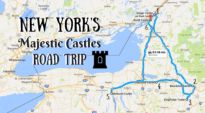 This Road Trip To New York's Most Majestic Castles Is Like Something From A Fairytale