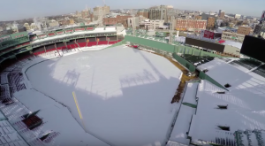 A Drone Flew Over Snowy Boston In Massachusetts And Captured Mesmerizing Footage