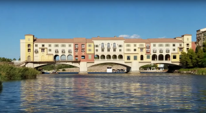 A Massive Resort Was Built And Then Abruptly Abandoned On A Lake Near Las Vegas