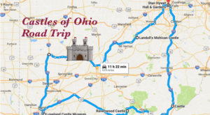 This Road Trip To Ohio's Most Majestic Castles Is Like Something From A Fairytale