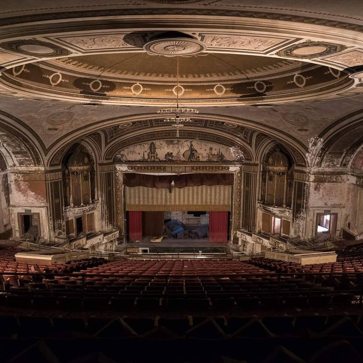 Abandoned Opera House Full Of Treasures From The Past