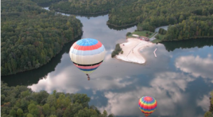 The Magical Hot Air Balloon Ride In Virginia That Everyone Should Take At Least Once