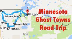 A Haunting Road Trip Through Minnesota Ghost Towns To Take If You Dare