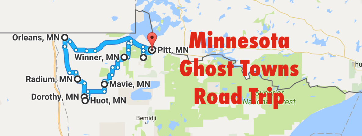 A Haunting Road Trip Through Minnesota Ghost Towns