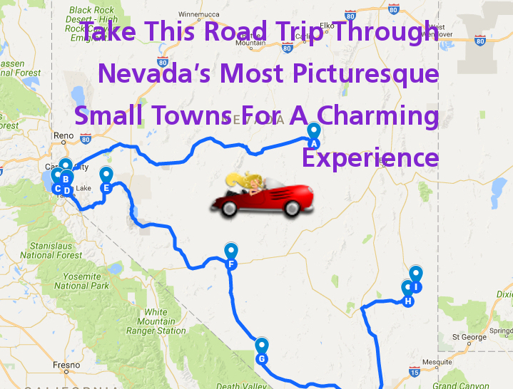 Take This Road Trip Through Nevadas Most Picturesque