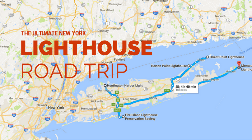 The Lighthouse Road Trip On The New York Coast That's ...