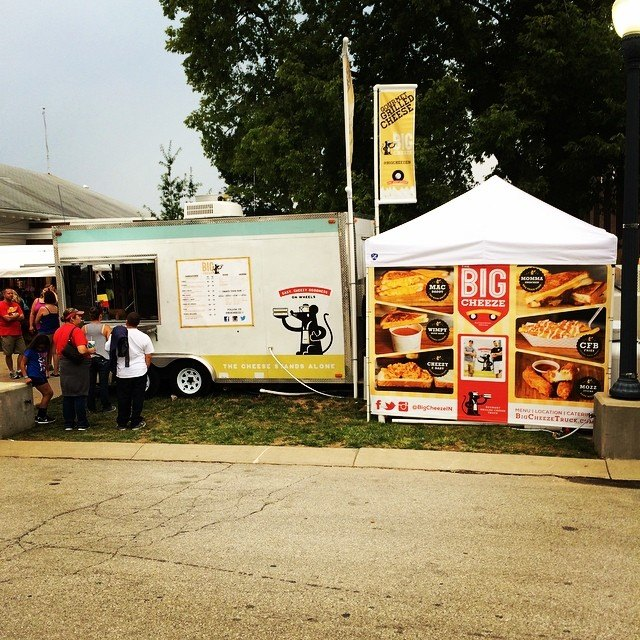 The Big Cheeze Food Truck Has The Best Grilled Cheese In Indiana