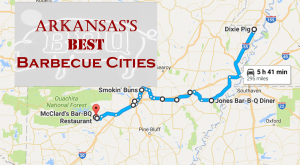 You've Got To Take This Road Trip Through Arkansas's Best Barbecue Cities