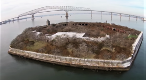 Someone Flew A Drone High Above Maryland And Captured The Most Breathtaking Footage
