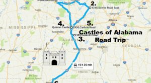 This Road Trip To Alabama's Most Majestic Castles Is Like Something From A Fairytale