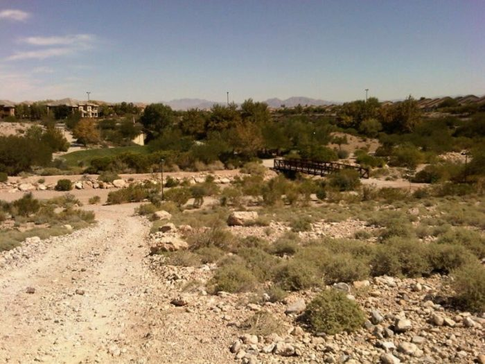 Summerlin Cottonwood Canyon Loop Trail