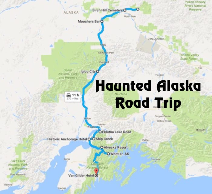 Unforgettable Road Trips To Take In Alaska Before You Die - Trip to alaska