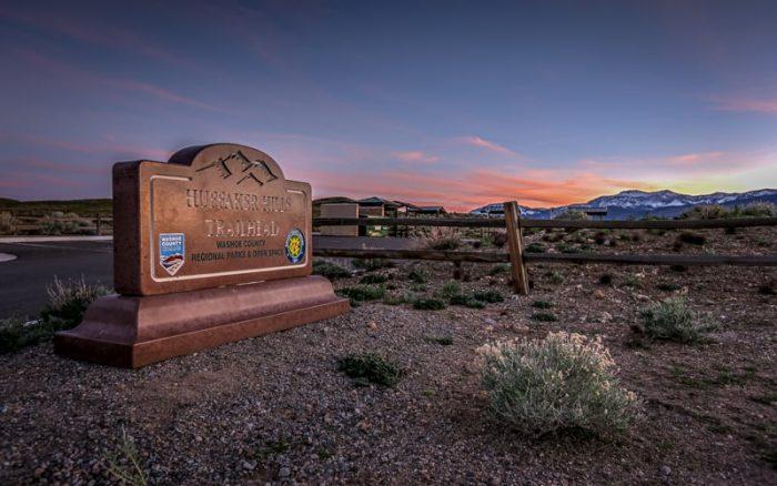 Huffaker Park Trail, Reno