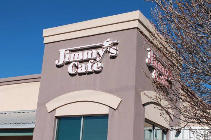 Jimmy S Cafe Albuquerque Menu