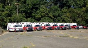 This Cemetery For Abandoned Ambulances Is Beyond Eerie