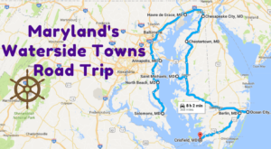 Take This Road Trip Through Maryland's Picturesque Waterside Towns For A Charming Experience