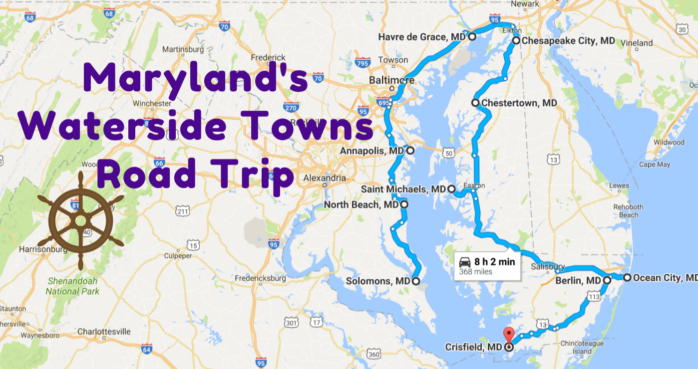 Take This Road Trip Through Maryland's Most Picturesque Small Towns For A Charming Experience
