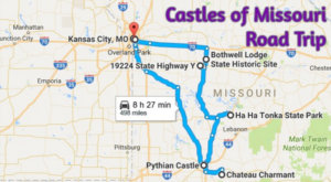 This Road Trip To Missouri's Most Majestic Castles Is Like Something From A Fairytale