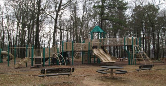 Children Of All Ages Thoroughly Enjoy Monte Sano State Parks Playground Area