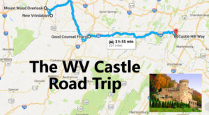 This Road Trip To West Virginia's Most Majestic Castles Is Like Something From A Fairytale