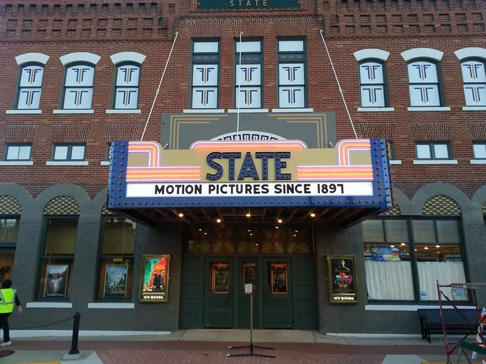 the state theatre in iowa is the oldest movie theater in