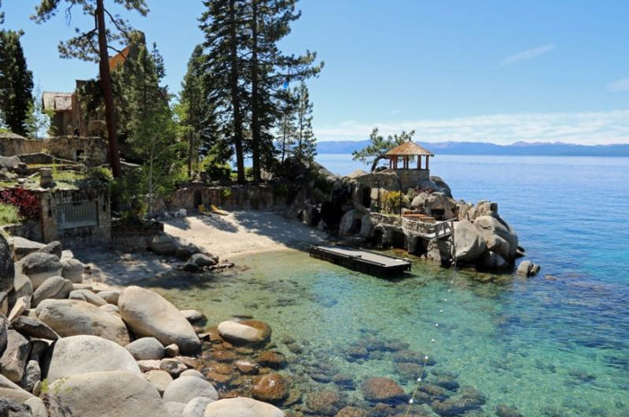 Lake Tahoe and Thunderbird Lodge