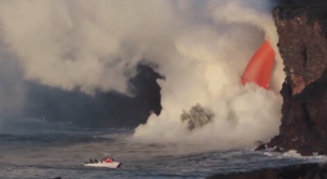 You've Never Seen Anything Like This Lava Waterfall Currently Erupting In Hawaii