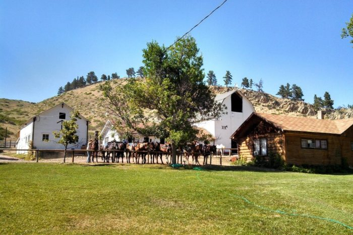The oldest guest ranch in america is right here in wyoming for Dude ranch new hampshire