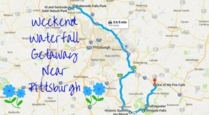 Here's The Perfect Weekend Itinerary If You Love Exploring Pittsburgh's Waterfalls
