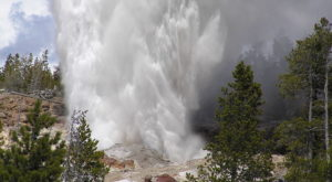 The World's Tallest Geyser Is Located Right Here In Wyoming