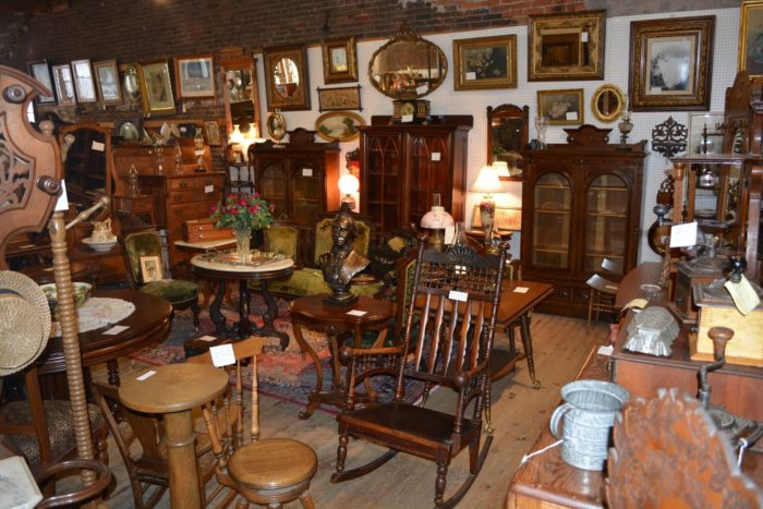 And on the third floor, a massive selection of high-quality antique  furniture awaits. Name an era or style, and you'll probably find it here. - This Massive Antique Mall In Minnesota Is A Vintage Lover's Dream