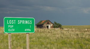 Blink And You'll Miss These 11 Teeny Tiny Towns In Wyoming
