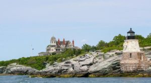 The Secluded Restaurant In Rhode Island With The Most Magical Surroundings