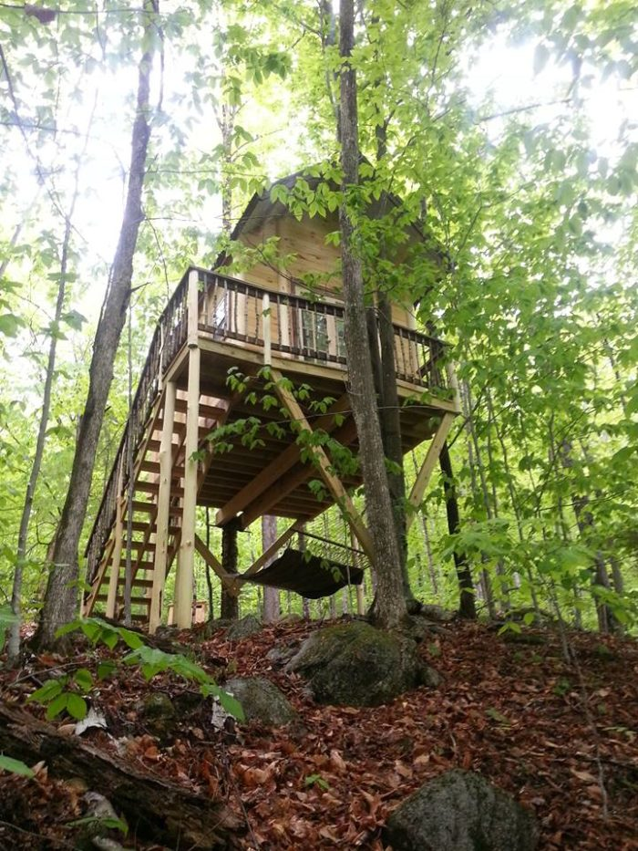 These Treehouses In Maine Will Give You An Unforgettable
