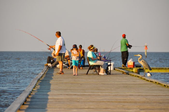 Fort morgan and dauphin island in alabama is a day trip of for Dauphin island fishing pier