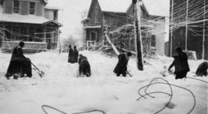 A Massive Blizzard Blanketed Cleveland In Snow In 1913 And It Will Never Be Forgotten