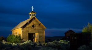 You've Never See A Ghost Town Like This One In Oregon Before