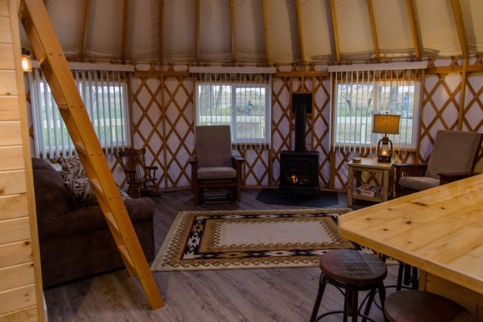 North Dakota Yurts Will Give You An Unforgettable Camping