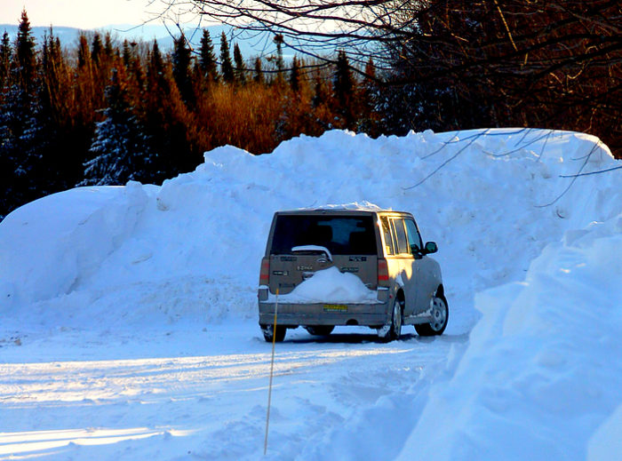 A Massive Blizzard Blanketed Vermont In Snow In 2007 And