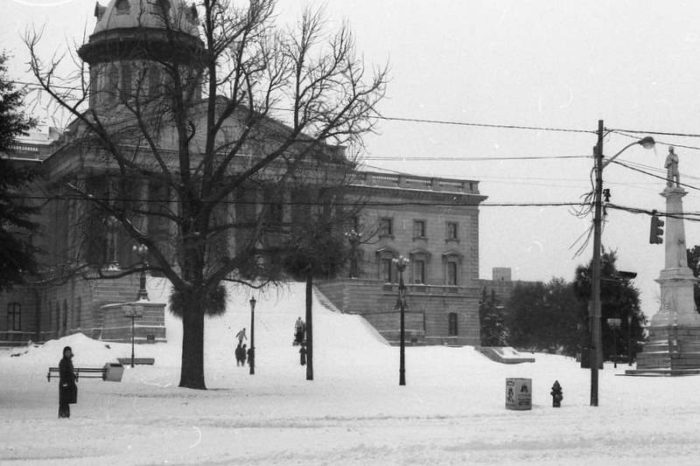 the massive blizzard of 1973 crippled south carolina and stranded 30 000 tourists. Black Bedroom Furniture Sets. Home Design Ideas