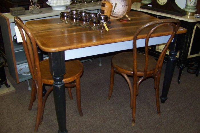 At Lakewood Antique Mall, you can find everything from stately antique  furniture like this dining table set. - Lakewood Antique Mall Is Best Antique Mall Near Cleveland