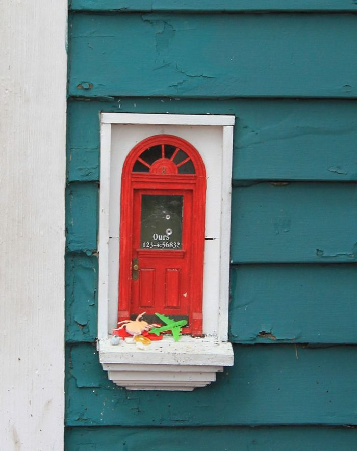The magical fairy doors of ann arbor michigan for Wooden fairy doors that open
