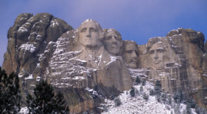 Most People Have No Idea There's A Hidden Room Behind Mount Rushmore In South Dakota