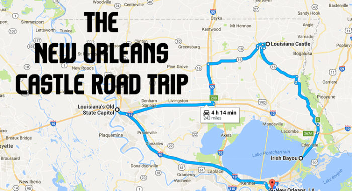 Take This Road Trip To See New Orleans Best Castles