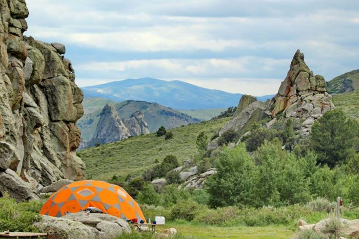 City of Rocks National Reserve - Idaho