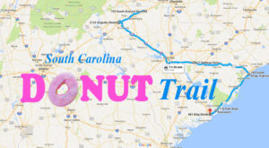 There's Nothing Better Than This Mouthwatering Donut Trail In South Carolina