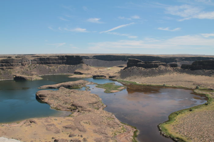 The Fascinating Story Behind Dry Falls In Washington