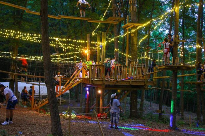 Adventure Park At Storrs Is An Amazing Tree Top Trail In